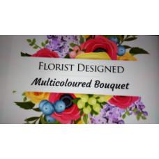 Multicoloured bouquet
